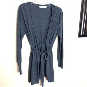 Anne Fontaine cardigan Wool open sweater 40 US 6-8